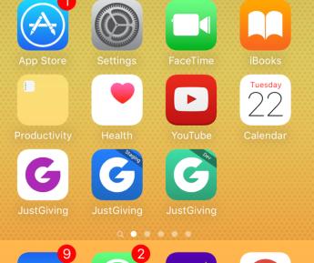 App per environment